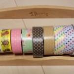 100円ショップのアイテムで簡単にマスキングテープを収納しよう!