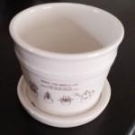 アロマポットを100均の植木鉢で作ったら!炭でほっこり♪